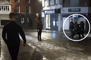 angry man who 'wanted to fight everyone' arrested after four people injured near grimsby nightclub