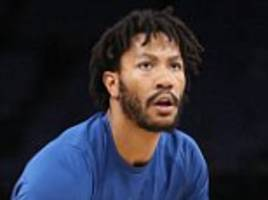 NBA point guard Derrick Rose signs with Minnesota Timberwolves