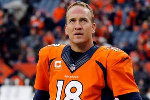 peyton manning in talks with fox, espn to call nfl football games