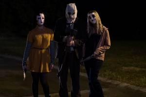 'the strangers: prey at night' film review: slasher sequel is half a good horror movie