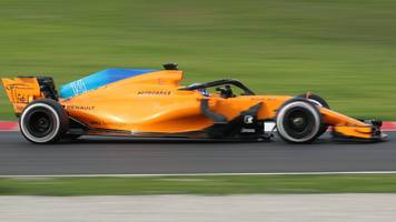 formula 1 testing: mclaren's fernando alonso second on last day in barcelona