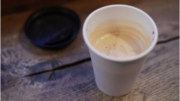 ministers reject 'latte levy' on cups