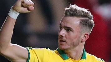 james maddison: norwich city midfielder wins efl young player of the month award