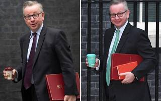 "michael gove's department has cooled on the idea of a ""latte levy"""