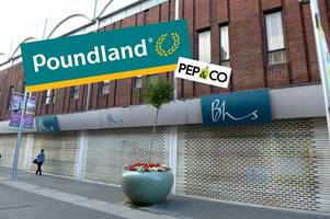 giant poundland to open in former grimsby bhs unit - and it's happening very soon