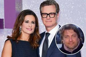 colin firth's wife admits she slept with men she accuses of stalking her