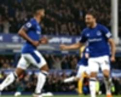 everton 2 brighton and hove albion 0: toffees enjoy home comforts despite rooney penalty miss
