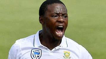 rabada doubtful for rest of series after charge over smith clash