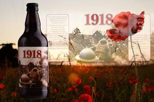 specially-brewed beer marks town's involvement in the great war