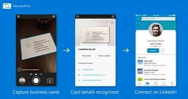 Microsoft Updates Its iPhone Camera App to Scan Business Cards