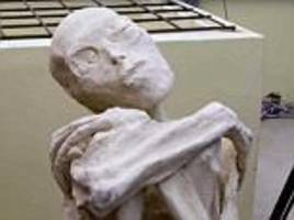 Three-fingered 'alien mummy' is 'not human', researcher claims
