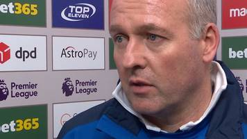 stoke 0-2 manchester city: paul lambert 'delighted' by potters' spirit despite defeat