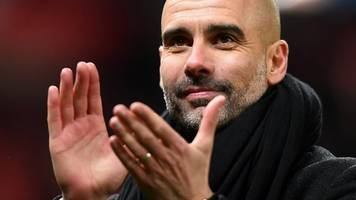 stoke 0-2 manchester city: pep guardiola 'so happy' with performance