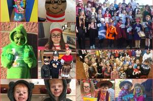 well read and well dressed as pupils mark world book day across mid devon