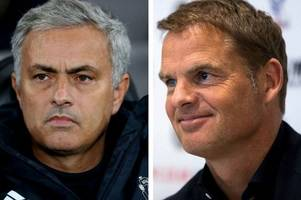 manchester united boss jose mourinho slams former crystal palace manager frank de boer over marcus rashford comments