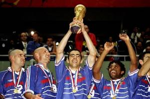 france world cup 98 winning squad to face international select ahead of russia 2018