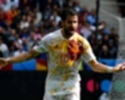 fabregas: i won't throw in the towel about making spain's world cup squad