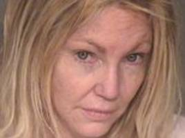 Heather Locklear charged with four counts of battery