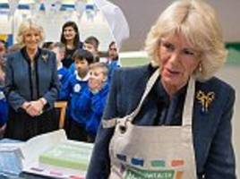 the duchess of cornwall attends big commonwealth lunch in london