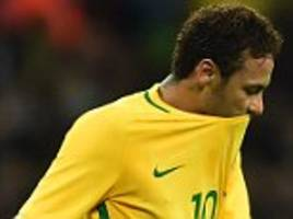 brazil coach won't take any risks with neymar ahead of world cup