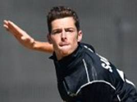 new zealand spinner mitchell santner out of england test series