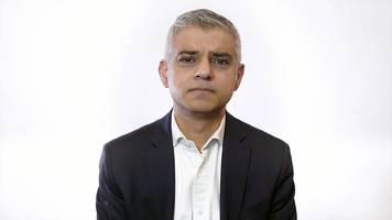 Sadiq Khan reads out online racist abuse and death threats