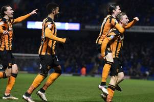 comment: hull city can almost see the finishing line in the race for championship survival