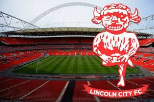 see the view from your seat for lincoln city's checkatrade trophy final at wembley against shrewsbury town
