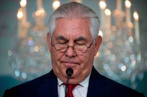 donald trump fires rex tillerson and appoints hardliner who wants to tear up nuclear deal with iran