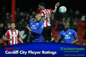 the cardiff city player ratings as kenneth zohore shows his bullying best and neil etheridge is a hero again
