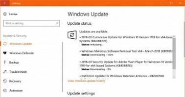 Windows 10 Cumulative Update KB4088776 Available for Fall Creators Update PCs