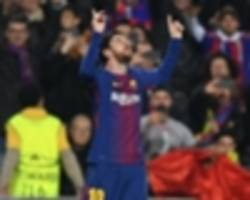 Lionel Messi scores fastest goal of his career with opener against Chelsea