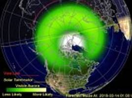 Solar storm set to hit Earth TODAY could trigger Northern Lights