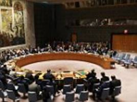 britain will demand a 'robust' response at un security council