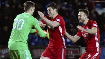 Highlights: Aberdeen beat Kilmarnock on penalties in Scottish Cup quarter-final replay