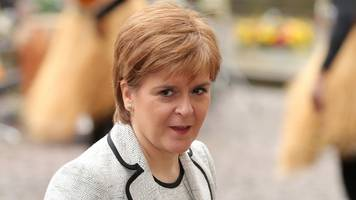Sturgeon backs May over Russia response