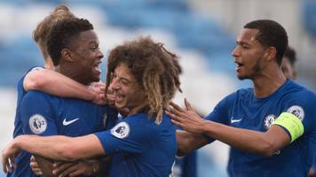 Chelsea and Man City reach Youth League semi-finals