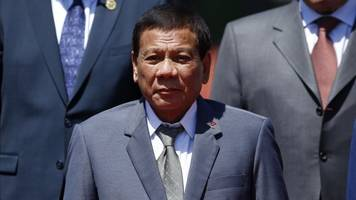 Duterte Says The Philippines Is Leaving International Criminal Court