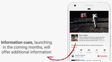 YouTube turns to Wikipedia to help debunk conspiracy theories spreading on its platform