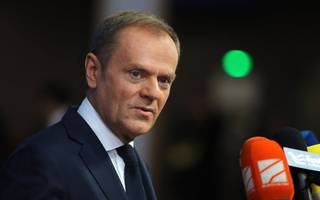 donald tusk takes on trump and russia