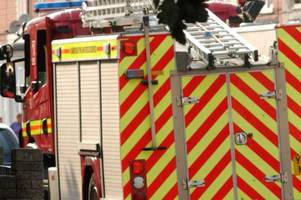 Light aircraft crashes in field in Cheshire