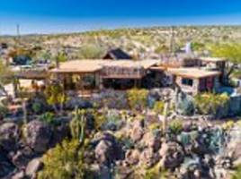 The California 'rocks and bottles ranch' on the market for $4.5m