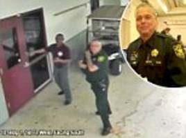 CCTV shows Parkland school officer outside during Florida shooting