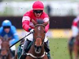 laurina easily wins mares' novices' hurdle at cheltenham festival