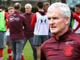 Mark Hughes vows to hit the ground running as new Southampton boss