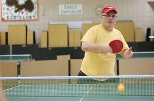 away from the spotlight: table tennis, anyone? (video)