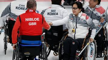 Great Britain edged out by South Korea in wheelchair curling