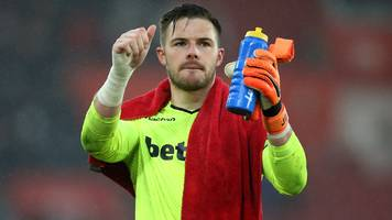 world cup 2018: england goalkeeper jack butland 'up for the battle'