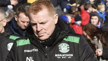 neil lennon: three-match touchline ban for hibs manager