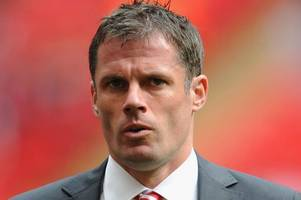 jamie carragher was wrong, but what on earth was that man utd fan doing?